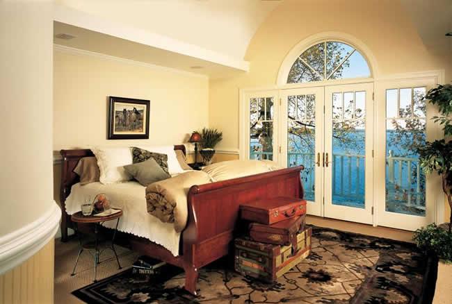 Jeld Wen offers beautiful wood patio doors for your home