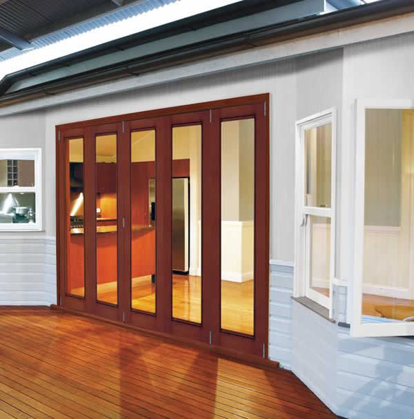 JELD-WEN Folding Patio Doors for senic solutions in your home