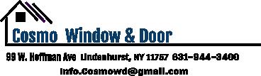 Cosmo Window & Door of Long Island NY Logo