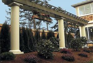 Landscape features using Classic Column