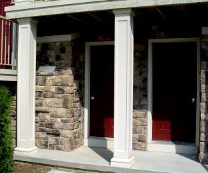 Decorative Fiberglass Columns And Posts For Deck And Porch