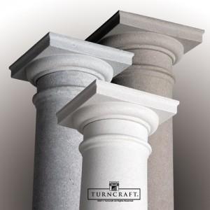 Turncraft Fiberglass DuraStone Columns