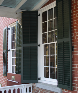 Southern Wood - Exterior Movable Louver Shutter