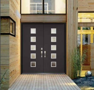 Masonite Exterior Fiberglass Modern Door 685CS
