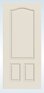 JELD-WEN Steel 90 Minute Fire-Rated 3 Panel Arch Top