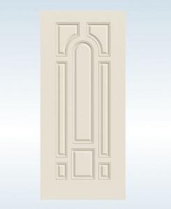 JELDWEN Exterior Steel 8-Panel Door