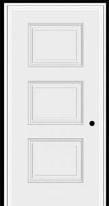 Masonite Steel Sta Tru 3 Panel Equal Door