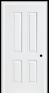 Masonite Steel Sta Tru 4 Panel New England Door
