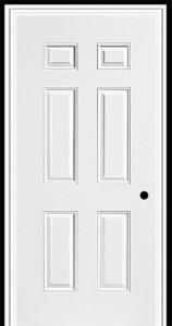 Masonite Steel Sta Tru 6 Panel Door