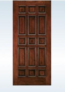 JELD-WEN Exterior Wood Panel  Door 105