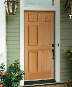 JELD-WEN Exterior Wood Six Panel Door 5066