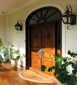 Lemieux Exterior Wood 3 Panel Door