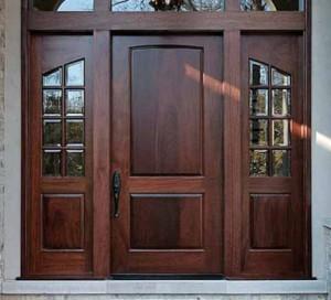 Lemieux Exterior Wood Panel Door
