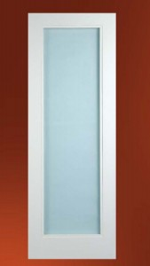 Ecco Interior MDF Door G1000 with Acid Etched Frosted Glass