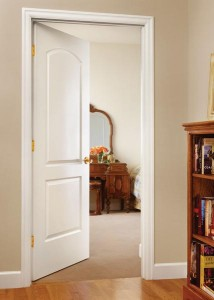 Jeld-Wen Molded Continental Door with Ovolo Sticking