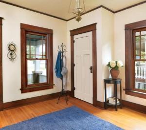Jeld-Wen Molded Craftsman III Door with Craftsman Sticking