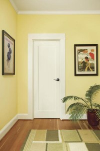 Jeld-Wen Molded Madison Door with Craftsman Sticking