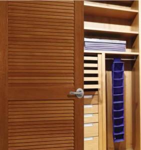 Lemieux Interior Wood Louver Door