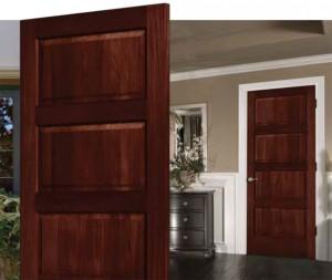 Lemieux MahoganyTorrified Interior Door C40