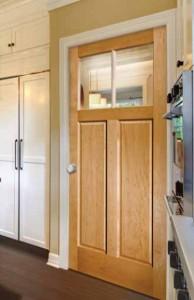 Lemieux Maple Interior Door 2622 with Fruitwood Stain