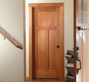 Rogue Valley Interior 8033 Craftsman in Fir with Square Sticking