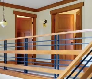 Simpson Wood Interior 3-Panel Fir Door 160