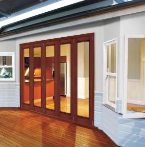 JELD-WEN Custom Fiberglass Folding Patio Door