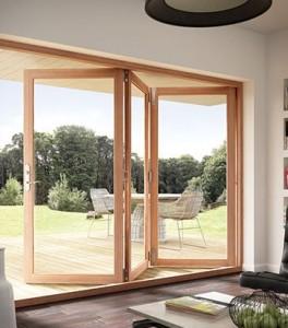 JELD-WEN Siteline Clad Wood Folding Patio Door