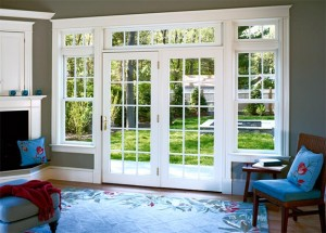 JELD-WEN Exterior Wood French 15-Lite Swinging Doors