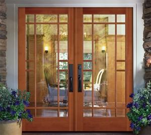 Simpson Exterior French Wood Door 37151