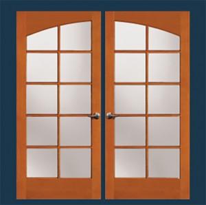 Simpson Exterior French Wood Door 37170 & 37180