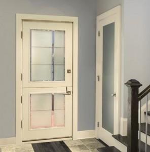 JELD-WEN Exterior Wood Contemporary Dutch  Door