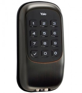 Yale Real Living Key Free Push Button Deadbolt B1L US10BP