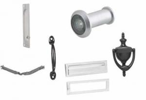 Ives hardware offers lock guards, viewers, knockers, letter boxes, pulls, crash stops and more for your exterior doors.