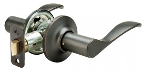 Yale Interior Lever Niagra in Oil Rubbed Bronze