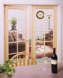 Rogue Valley Interior French Door 1510 in Pine