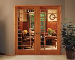 Simpson French Door 1250 in Fir
