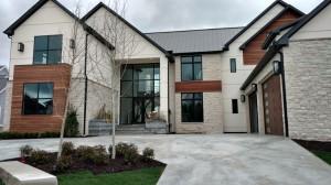 Quaker -Aluminum H600 Casement Picture Windows and Brighton Wood Clad Patio Doors