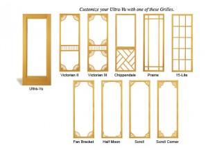 Combination Wood Door Ultra-Vu